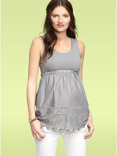 Eyelet top from the Gap