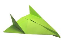 Picture of Origami Paper Airplane: Thunder Bomber