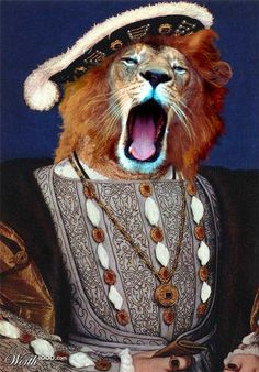 Animal Renaissance - Worth1000 Contests.       Henry L. VIII