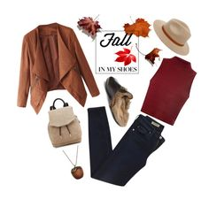 """Fall in My Shoes'"" by dianefantasy ❤ liked on Polyvore featuring AG Adriano Goldschmied, Glamorous, Billabong, Gucci, rag & bone, Emi Jewellery, polyvoreeditorial and fallloafers"