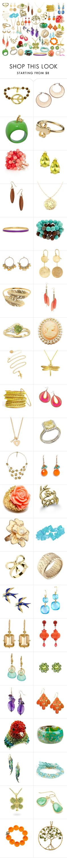 """Spring Jewelry"" by chas23 ❤ liked on Polyvore featuring Ettika, Nine West, Dollydagger, Juicy Couture, Dorothy Perkins, Kyler by Joy O, Kate Spade, Krystal Sasso, Calico Juno and Morra Designs"