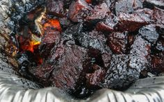 Smoked Beef Brisket Burnt Ends Bbq Grill - Smoked beef brisket burnt ends & geräucherte rinderbrust verbrannte enden - Bbq Brisket, Smoked Beef Brisket, Smoked Pork, Texas Brisket, Texas Bbq, Grilling Recipes, Meat Recipes, Recipies, Spinach Recipes