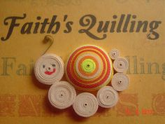 Faith's Quilling: Art of quilling, Paper craft, Quilled Snail, Quilling