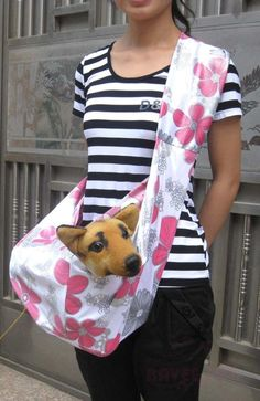 Reversible Sling Dog Carrier | DIY & Crafts that I love ...