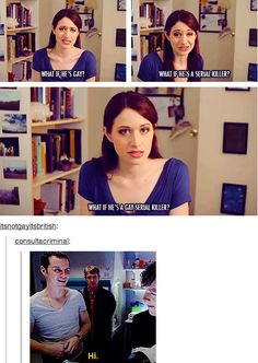 Sherlock and The Lizzie Bennett Diaries, hahahaha