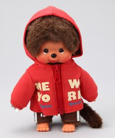 Take a look at this NYC Park Monchhichi Plush Toy by Monchhichi on #zulily today!