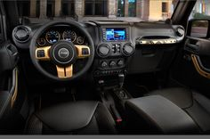 jeep wrangler dragon edition   2014 Jeep Wrangler Dragon Edition dash Photo #405799 - Motor Trend WOT