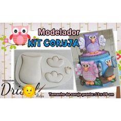 Modelador Kit Coruja