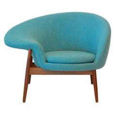 The Hans Olsen's 1956 Fried Egg Chair