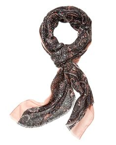 This Paisley Scarf is a must-have for any wardrobe. Use it to cover up your shoulders or let it drape loosely around your neck. Paisley Scarves, Must Haves, Cover Up, Color, Outfits, Fashion, Moda, Suits, La Mode