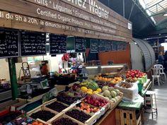 Organic food in Enfants Rouges market. Organic Recipes, Fruit, Food, Essen, Meals, Yemek, Organic Dinner Recipes, Eten