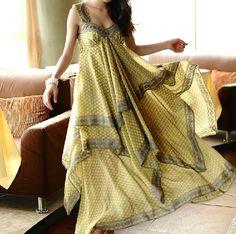 Chiffon dress 018 by YL1dress on Etsy, $69.00