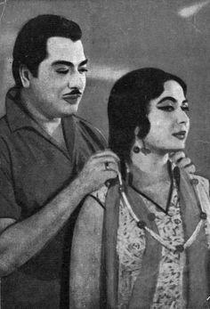Bollywood Couples, Bollywood Cinema, Bollywood Stars, Bollywood Actress, Vintage Bollywood, Indian Bollywood, Indian Star, Celebrity Stars, Love Affair