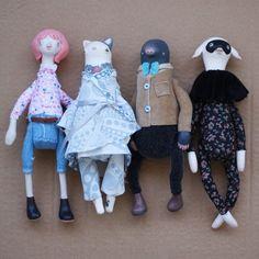 Daria Lapto @claymate__creatures #handmade #doll #...Instagram photo   Websta (Webstagram)