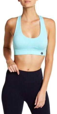 59dcd986ec Bally Total Fitness Vivian Seamless Multi-Strap Sports Bra