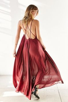 Urban Outfitters will get you ready for the spring season with this Ecote Lacey Cutout Maxi Dress From ShopStyle