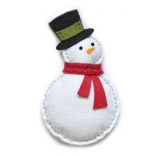 Dies/Matrices de découpe 'Memorybox' Plush Bundled Snowman