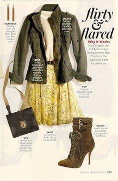 From InStyle Magazine (February 2011)