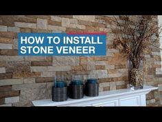 DIY Saturday #40 - How to Install Interior Stone Veneer (Video)