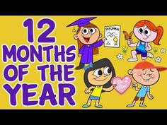 Months of the Year Song - 12 Months of the Year - Kids Songs by The Learning Station - YouTube