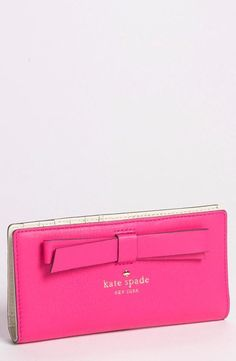 Hancock Park Stacy leather wallet by Kate Spade New York