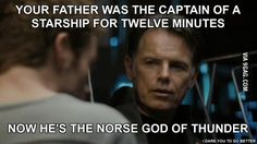 I can't watch Star Trek (2009) without making this comparison any more...
