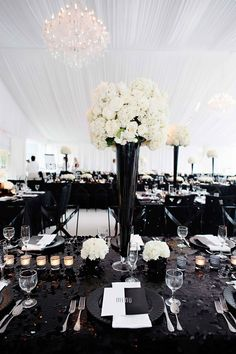 Black And White Modern Wedding With Unique Details In Cincinnati