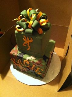 1000 Images About Camo Hunting Cakes On Pinterest Camo