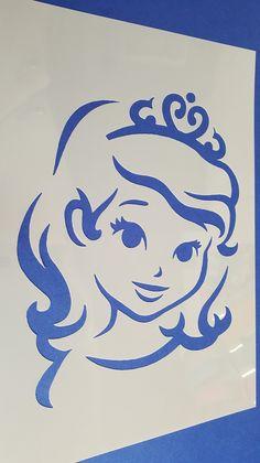 Schablone Prinzessin Fee Wandbilder Wandtattoos