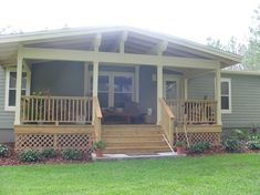 Front Porch Addition and Landscaping, One of a kind front porch addition with a craftsman style., Home Exterior Design