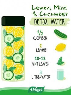 Time for a detox. The right detox method leads to a healthy way – weight loss, healthy cleanse of the body. Make your own homemade detox that helps you naturally. How to detox with the biggest effect. Healthy Detox, Healthy Drinks, Healthy Life, Healthy Water, Healthy Eating, Healthy Juices, Healthy Weight, Infused Water Recipes, Fruit Infused Water
