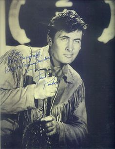 Signed photo Fess Parker