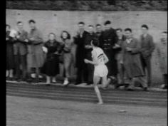 Roger Bannister-1954-First Four Minute Mile (HQ-Full Race)  www.calorieburningsecrets.info/aceathlete1.html
