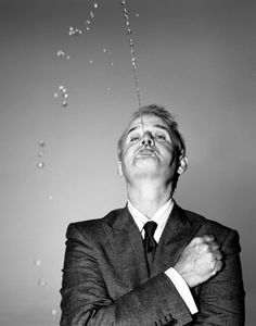 Bill Murray is a human water fountain.