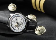 Maurice Lacroix Masterpiece Worldtimer. More @ http://www.watchtime.com/wristwatch-industry-news/watches/budget-travelers-5-world-time-watches-under-5000/ #MauriceLacroix #watchtime