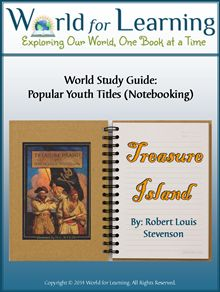 World Study Guide: Popular Youth Titles - Treasure Island - World for Learning | CurrClick