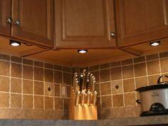 Installing Under-Cabinet Lighting | Kitchen Ideas & Design with Cabinets, Islands, Backsplashes | HGTV