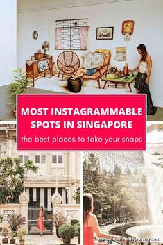 Follow us on a trip of the most instagrammable spots in Singapore. From tropical green spaces to modern skyscrapers, hipster cafes to colorful shophouses. All the insider tips of where to snap your #OOTD in the Little Red Dot! | #instagram #instagrampictureideas #singapore #singaporetravel #singaporephotography #singaporephotographyinstagram Slow Travel, Travel Hacks, Asia Travel, Family Travel, Travel Guide, Singapore Travel Tips, Singapore Itinerary, Modern Skyscrapers, Once In A Lifetime