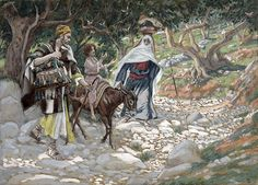 The Return From Egypt Painting by Tissot