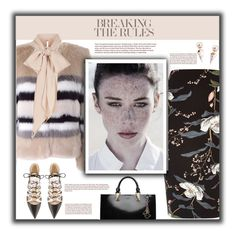 """""""Breaking The Rules"""" by fassionista ❤ liked on Polyvore featuring River Island, AINEA, MaxMara, Karl Lagerfeld, Jimmy Choo and Gold Philosophy"""