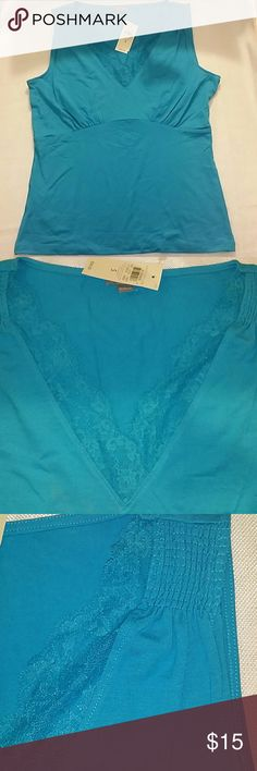 Ann Taylor shirt size S Nice blue color Ann Taylor shirt. New with tags. Size S Ann Taylor Tops