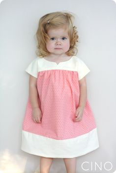 adorable pink and white Oliver + S ice cream dress by CINO