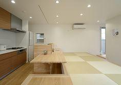 十和田石の浴槽がある家・間取り(東京都杉並区) | 注文住宅なら建築設計事務所 フリーダムアーキテクツデザイン