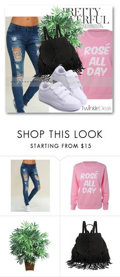 """""""Sporty casual!"""" by dianagrigoryan ❤ liked on Polyvore featuring Nearly Natural, casual, sporty and twinkledeals"""