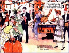The Ultimate 1914 Halloween Party--Vintage Dennison Bogie Book Cover