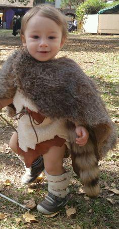 Cute little barbarian tyke at the Texas Renaissance Festival's Barbarian Invasion!
