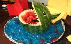 Summer Crafting: Shark Bite Watermelon | BlogHer