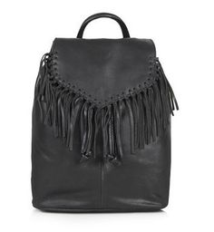 Pin for Later: The Ultimate Guide to Finding Your Perfect Spring Bag  Topshop Womens Suede Fringe Backpack (£55)