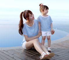 MODA COREANA: ROPA PARA MAMÁ E HIJA | Mundo Fama Corea