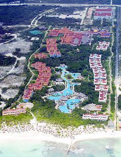 Iberostar Paraiso Beach - Playa Del Carmen Mexico  Great Resort! 1 in the pool and 1 in the ocean